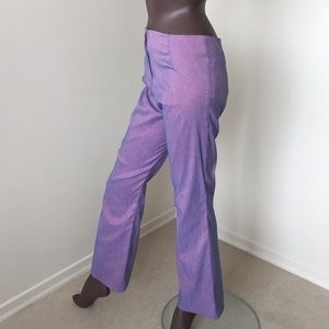 💝Le Chateau high Rise iridescent colored pants